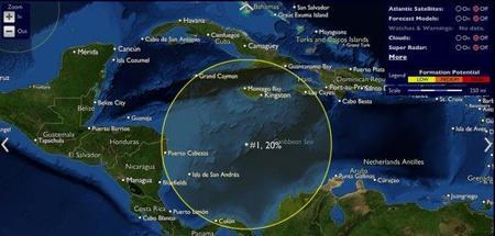 Webs para seguir la actividad de los huracanes