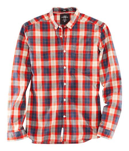 Camisa cuadros H&M