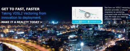 Alcatel-Lucent demuestra que con VDSL2 Vectoring es posible llegar a los 130 Mbps