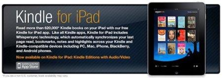 Amazon Kindle, un conjunto ganador para el iPad, Mac e iPhone
