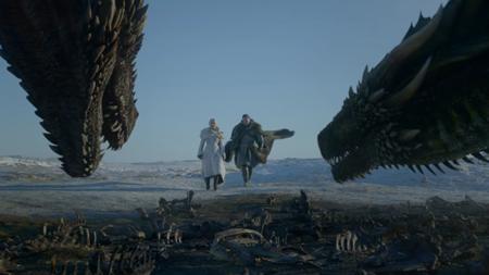 Dragones Daenerys Y Jon Juego De Tronos Primer Capitulo Octava Y Ultima Temporada
