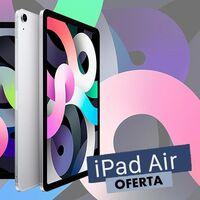 Ahórrate 50 euros estrenando un ligero iPad Air: Amazon tiene el de 64 GB por 599 euros