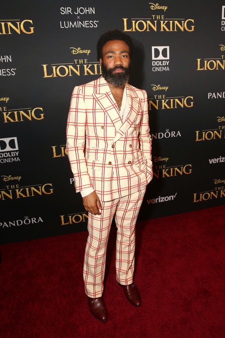 Donald Glover Premiere Of Disney The Lion King Red Carpet Arrivals