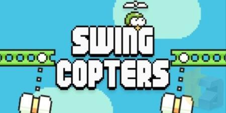 Swing Copters, el nuevo juego del creador de Flappy Bird que únicamente cambia la orientación