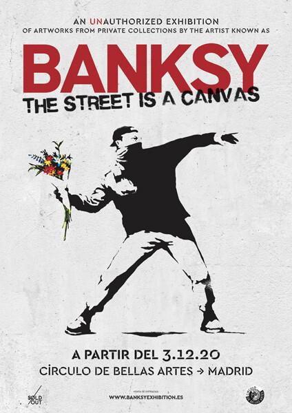 Bansky Madrid 2020 Cartel