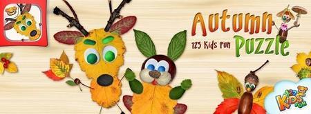 123 Kids Fun Autumn Puzzle, una divertida app para tu móvil