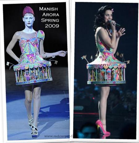 Kate Perry y sus modelitos en los MTV Europe Music Awards ¿vestida o disfrazada?