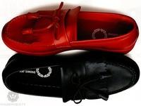 Raf Simons para Fred Perry colección calzado Primavera-Verano 2009