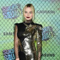 Margot Robbie deslumbra con un vestido mágico de un unicornio dorado