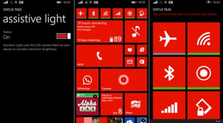 Status Tiles, una aplicación para crear accesos directos a las opciones de Windows Phone, gratis por 48 horas