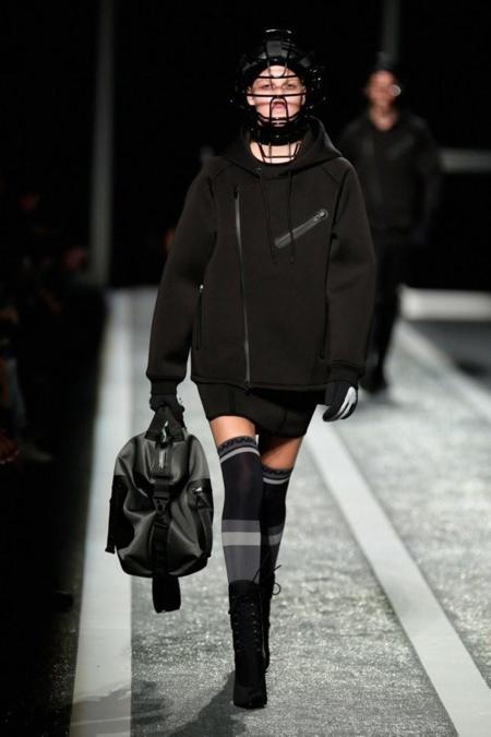 Alexander Wang Hm Runway chaqueta neopreno