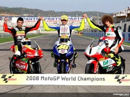 MotoGP 2009, día 1