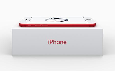 Resultado de imagen de iphone 7 red