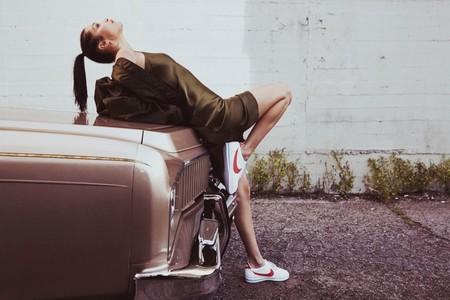 Bella Hadid Nike Cortez 2017 Campaign01