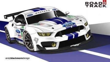 ¿Ford piensa en la resistencia con el Mustang o el sustituto del GT40?