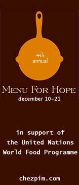 Cuarta campaña Menu for Hope para combatir el hambre en el mundo