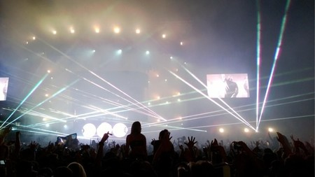 Lumia 928 en concierto