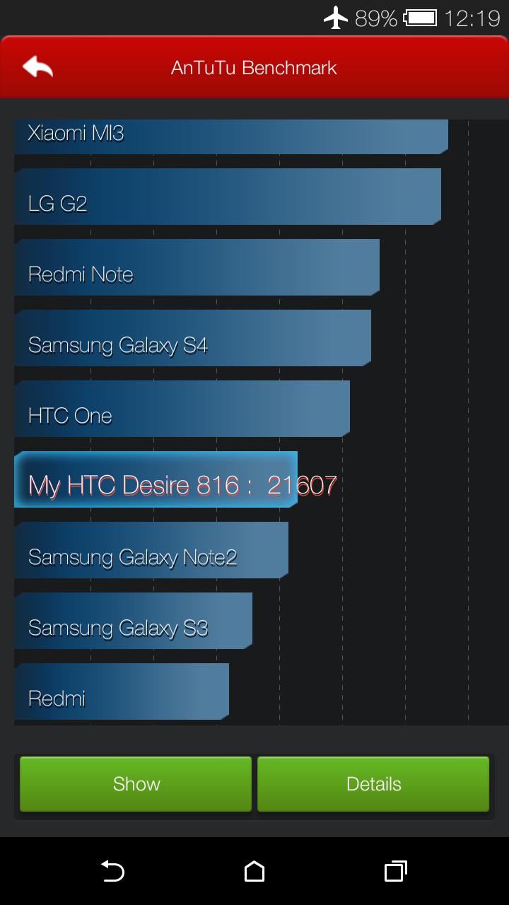 Foto de HTC Desire 816, rendimiento (6/23)
