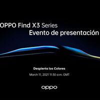 Los OPPO Find X3 ya tienen fecha de presentación: conoceremos a la nueva gama alta de OPPO en diez días