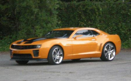 ¿Un Chevrolet Camaro Z/28 en 'Transformers 2'?