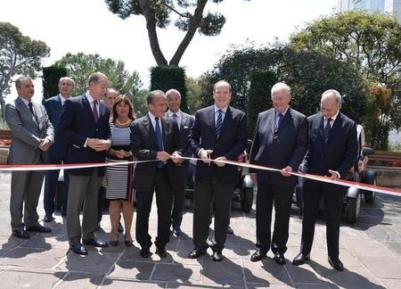 Inaugurado oficialmente Mobee, el carsharing eléctrico de Mónaco
