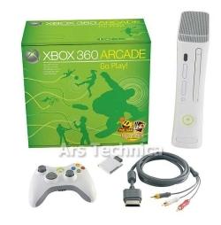 Xbox360 Arcade más cerca que nunca