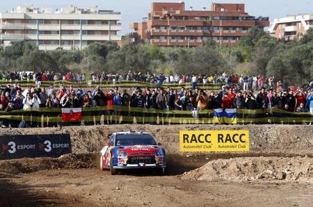 Rally de Catalunya 2010: Sébastien Loeb demuestra en el shakedown que viene a ganar