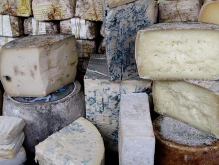 El queso azul. Conoce tres de sus variedades más conocidas.