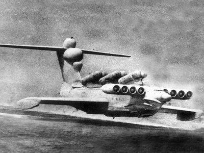 Así eran los ekranoplanos, los enormes monstruos del Mar Caspio gestados en la Guerra Fría