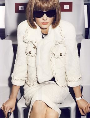 Anna Wintour en la editorial de la revista Vogue francesa