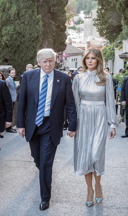 Melania Trump Plata