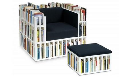 El sillón biblioteca, ¡ya no necesito levantarme para nada!