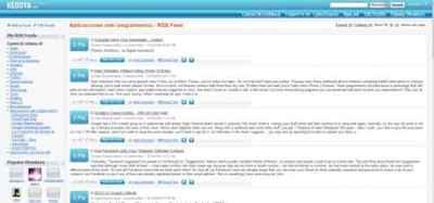 Kedoya, nuevo lector online de canales RSS y social
