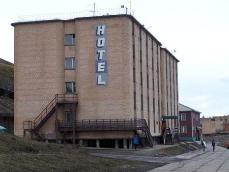 Barensburg Hotel, Svalbard, Norway