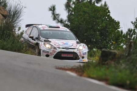 Giandomenico Basso sólido líder tras la primera etapa del Rally de San Remo