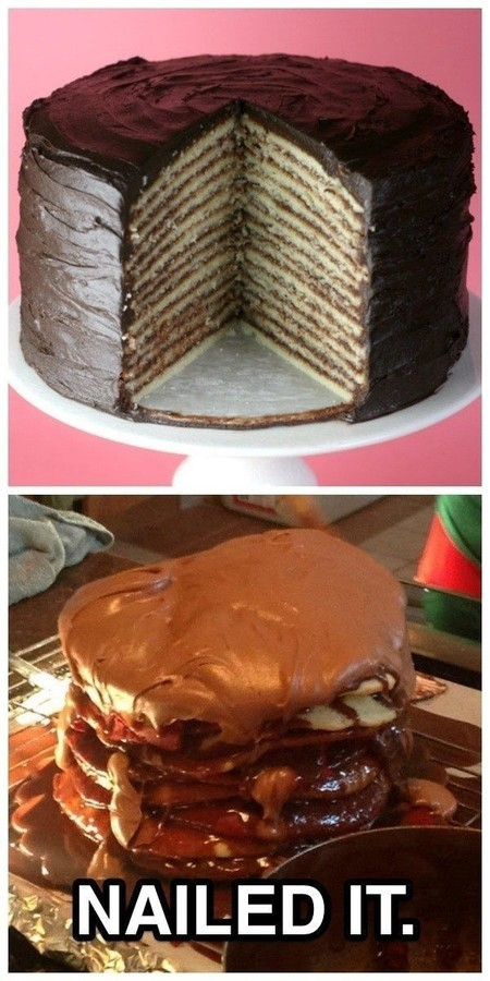 Layer Cake Gone Wrong