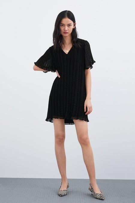 Vestido Negro Zara 11