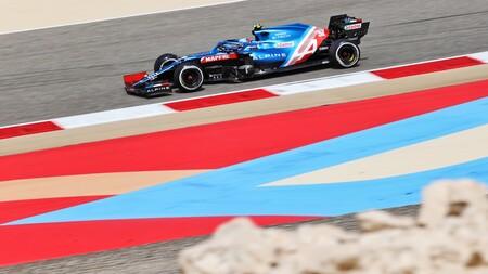 Ocon Sakhir F1 2021