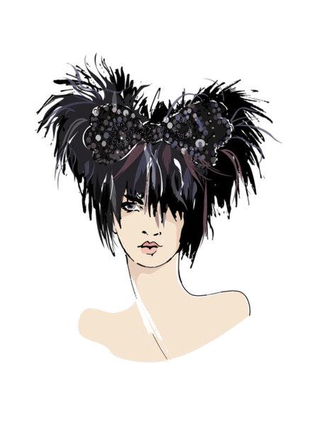 Minnie en la Semana de la Moda de Londres