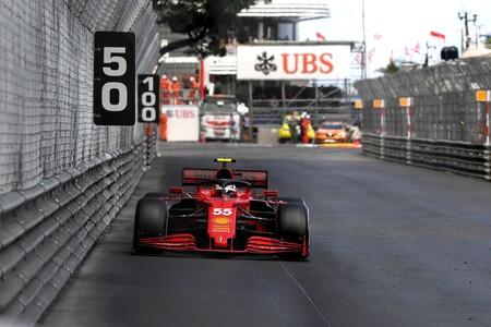 Sainz Monaco F1 2021