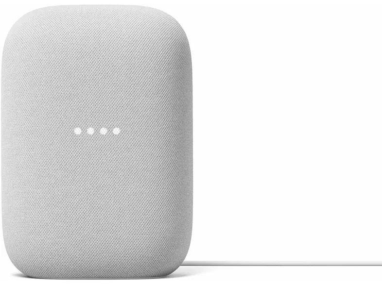Altavoz inteligente - Google Nest Audio, Asistente de Google, Tecnología Voice Match, Blanco