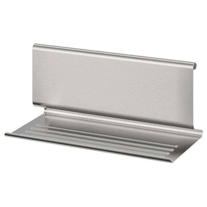 KUNGSFORS Soporte para tablet, de acero inoxidable 26x12 cm