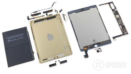 iFixit desmonta el iPad Air 2 confirmando sus 2 GB de RAM