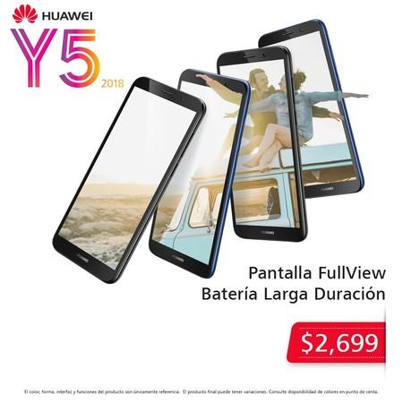 Huawei Y5 Mexico Precio