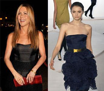 Jennifer Aniston en la premiere de Marley & Me
