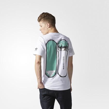 Una camiseta ilustrada por el gran Gasius para Adidas Originals