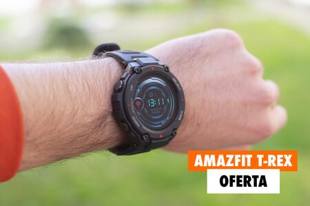 Oferta Flash en Amazon para los más rápidos: llévate este resistente smartwatch Amazfit T-Rex con GPS por menos de 100 euros