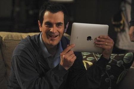Un capítulo de 'Modern Family' promocionando el iPad