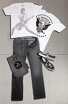 Colección Johnny Ramone de Vans