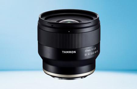 Tamron 20 mm F/2.8 Di III OSD M1:2, nuevo objetivo gran angular fijo y muy ligero para las mirrorless full frame de Sony